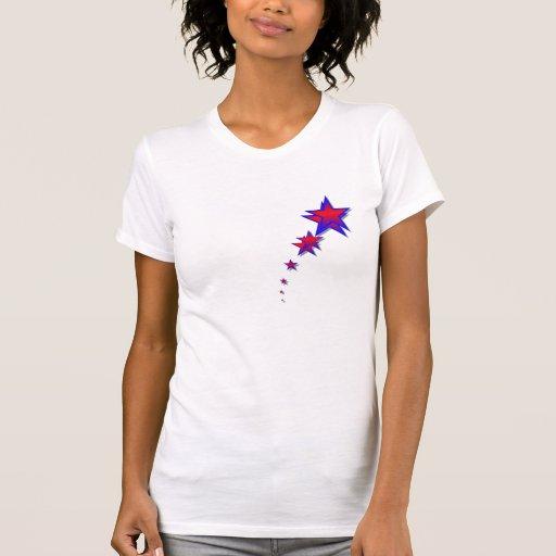 Cuarto del rastro de la estrella de la camiseta de