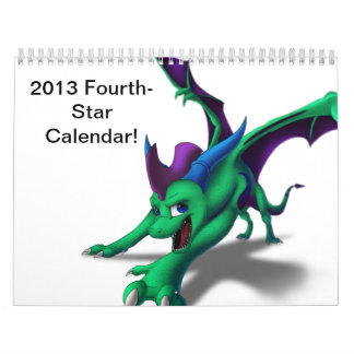 Cuarto-Estrella Calander Calendario