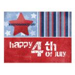 Cuarto feliz de la postal de julio