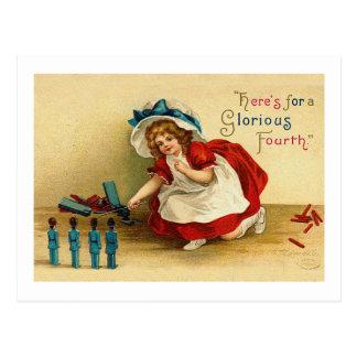 Cuarto glorioso de las tarjetas de felicitación de postales