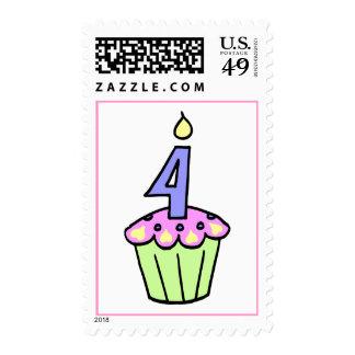 Cuarto sello de la magdalena del cumpleaños