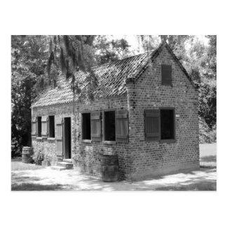 Cuartos auxiliares de la plantación postal