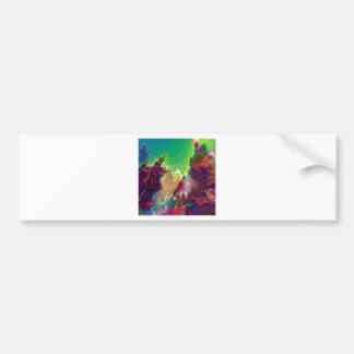 Cuartos de niños abstractos de la estrella de los etiqueta de parachoque