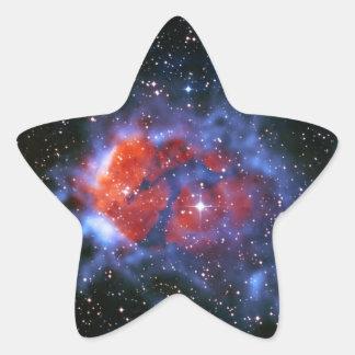 Cuartos de niños estelares RCW120 Pegatina En Forma De Estrella