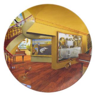 Cuartos frescos por el arte de Lenny Platos