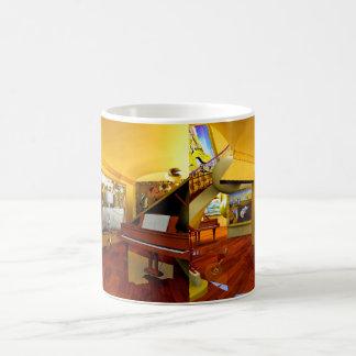 Cuartos frescos por el arte de Lenny Tazas De Café
