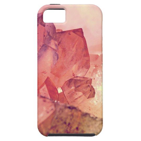 cuarzo color de rosa funda para iPhone SE/5/5s