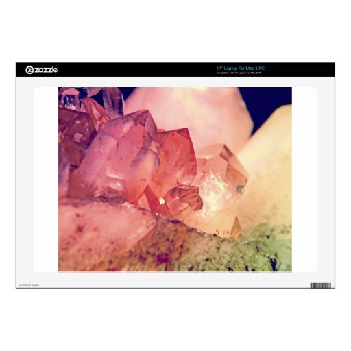 cuarzo color de rosa skins para 43,2cm portátil