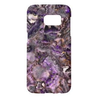 Cuarzo púrpura funda samsung galaxy s7