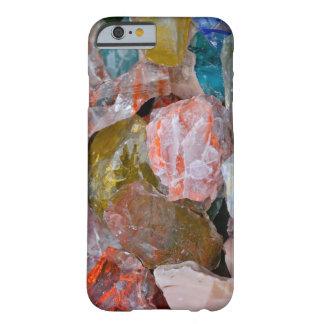 Cuarzo y vidrio funda de iPhone 6 barely there