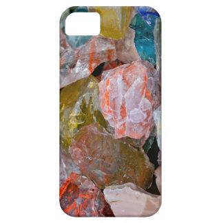 Cuarzo y vidrio iPhone 5 fundas