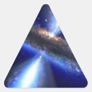 Cuasar Calcomanía Triangulo Personalizadas