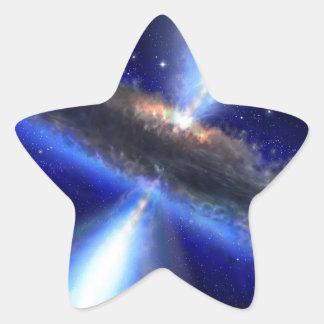 Cuasar Calcomanía Forma De Estrellae