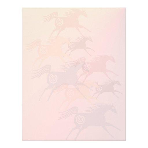 Cuatro caballos antiguos letterhead2_vertical membrete