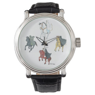 Cuatro caballos del reloj de la apocalipsis