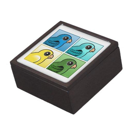 Cuatro color Linnies Caja De Joyas De Calidad