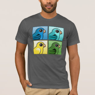 Cuatro color Linnies Playera