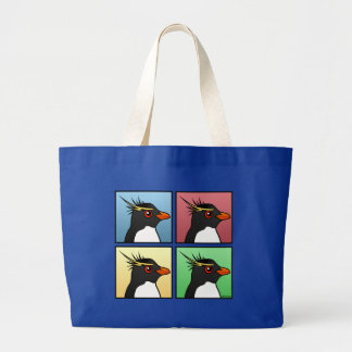 Cuatro color Rockhopper Bolsa Tela Grande