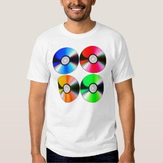 cuatro discos camisas