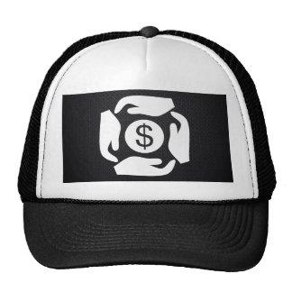 Cuatro dólares de pictograma gorra
