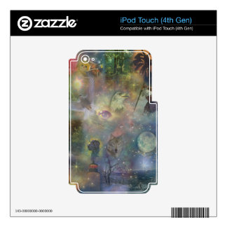 Cuatro estaciones - caída del invierno del verano iPod touch 4G skin