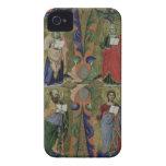Cuatro evangelistas, siglo XIV (vitela) iPhone 4 Cárcasa