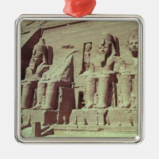 Cuatro figuras colosales del rey adorno para reyes