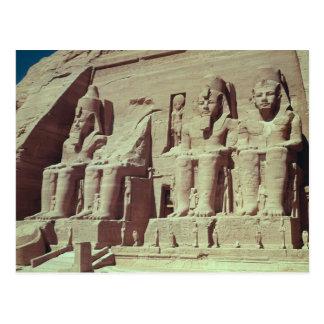 Cuatro figuras colosales del rey postal