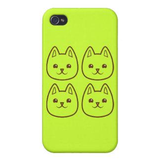 Cuatro GATOS iPhone 4/4S Carcasa