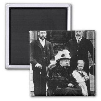 Cuatro generaciones de derechos del Victorian Iman De Frigorífico