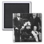 Cuatro generaciones de derechos del Victorian Imán Cuadrado
