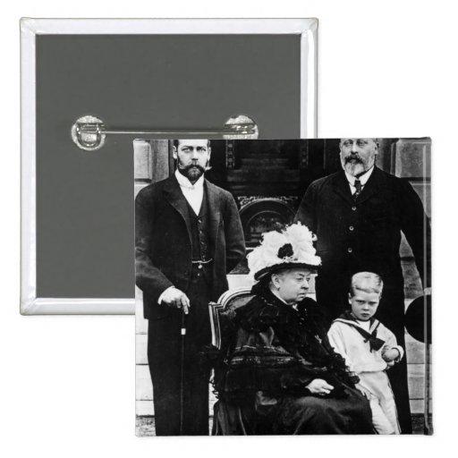 Cuatro generaciones de derechos del Victorian Pin Cuadrado