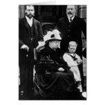 Cuatro generaciones de derechos del Victorian Tarjeta De Felicitación