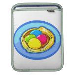 cuatro huevos coloreados oval.png después azul mangas de iPad