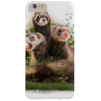 Cuatro hurónes en su hábitat salvaje funda para iPhone 6 plus barely there
