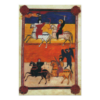 Cuatro jinetes de la apocalipsis A.D. 1047 Poster