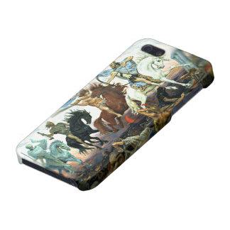 Cuatro jinetes de la apocalipsis iPhone 5 protector
