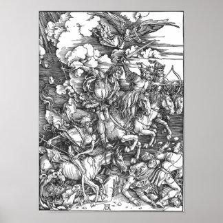 Cuatro jinetes de la apocalipsis poster