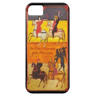 Cuatro jinetes del arte del francés de la funda para iPhone SE/5/5s