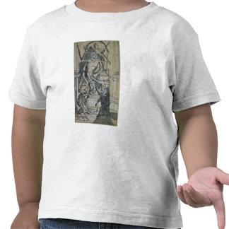 Cuatro ladrones graves despiertan un fantasma camiseta