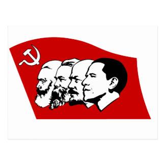 Cuatro líderes del socialismo postal