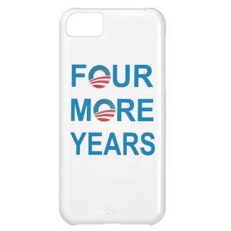 CUATRO MÁS AÑOS - Barack Obama 2012 Funda Para iPhone 5C