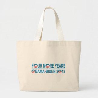 Cuatro más años - Obama-Biden 2012 Bolsas