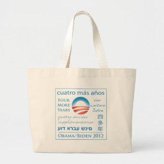Cuatro más años para Obama/Biden Bolsas