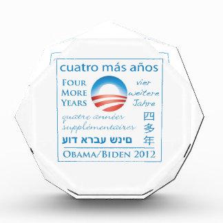 Cuatro más años para Obama Biden