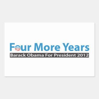 Cuatro más años para Obama Rectangular Altavoces