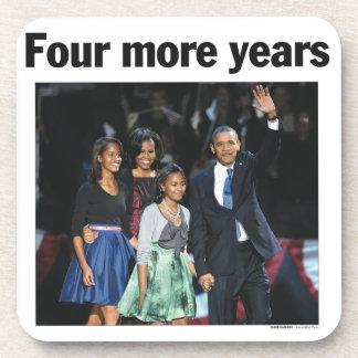 Cuatro más años: Práctico de costa 2012 de Obama Posavaso