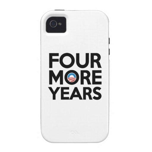 Cuatro más años vibe iPhone 4 carcasa