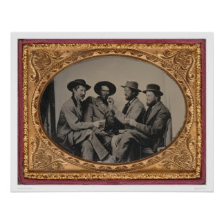 Cuatro mineros de California (40030) Póster