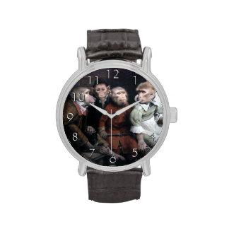 Cuatro monos de lujo reloj